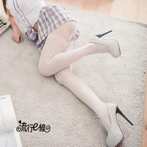 MIT輕薄開檔絲襪褲襪~美腿假吊帶襪~B362...