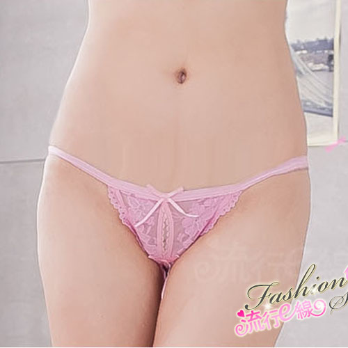 蕾絲丁字褲~開檔性感丁字褲~B587...