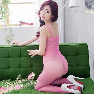 裸肌貓裝膚色連身貓裝~少見粉桃色性感貓裝~B367