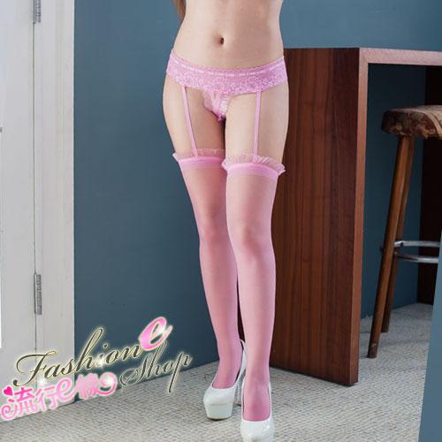 一體成型連內褲性感吊帶襪大腿襪~B8017...