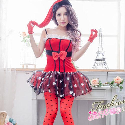 公主華麗聖誕裝小禮服式聖誕服裝*F066...