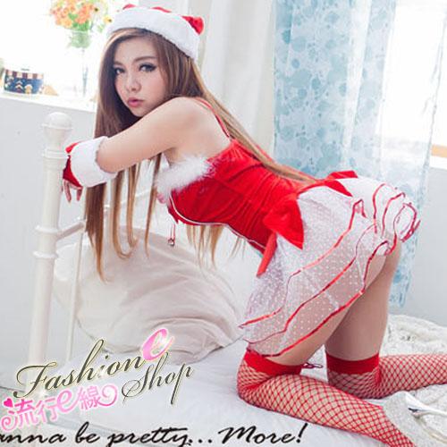 聖誕禮物聖誕服角色扮演聖誕裝跨年派對服cosplay服裝-流行E線F062...