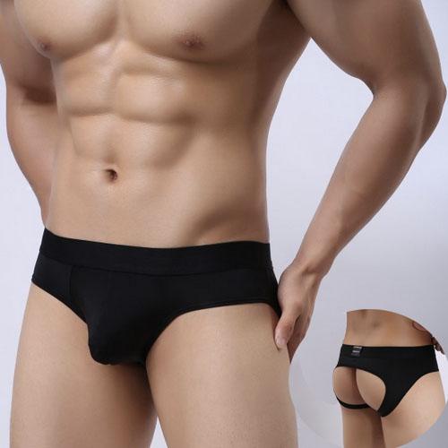 黑色猛男內褲性感男內褲 B6059