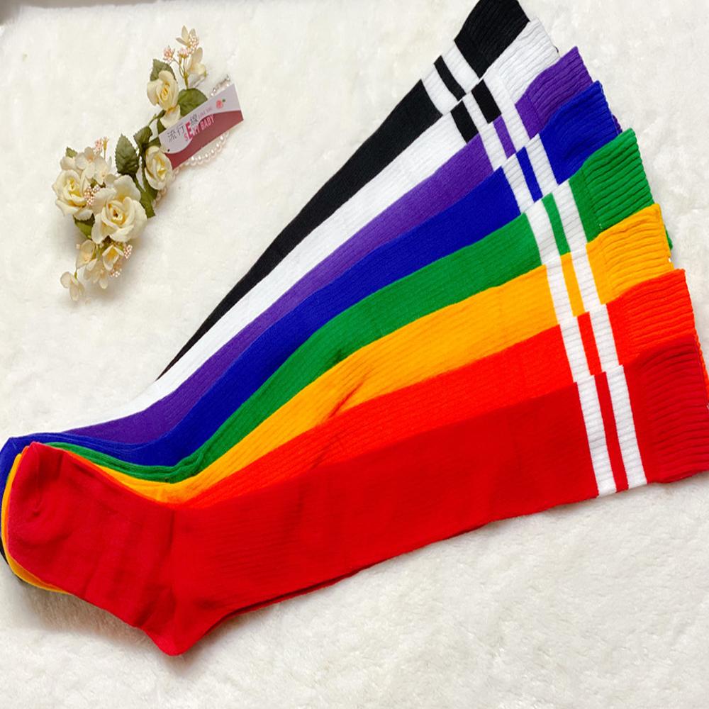 性感學生襪 顯瘦厚棉襪膝上襪 百搭大腿襪~B8126