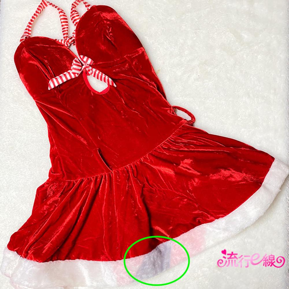 NG品出清  日系可愛女孩甜心聖誕裝含聖誕帽*F037NG...