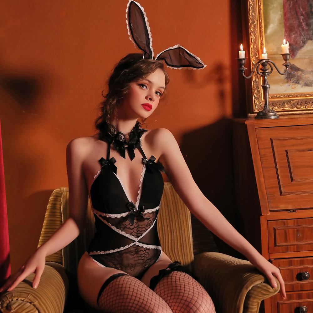 甜心透明兔女郎 角色扮演cosplay表演服~A7288
